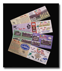 Tab Coupon Booklets for Non-Profit Organizations.