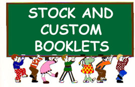 Stock and Custom Booklets