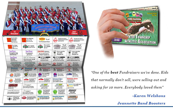 coupon book for Jeannette Band